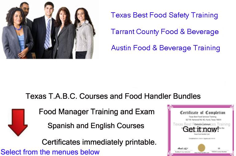 TABC Food Handler