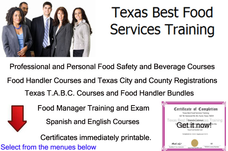 Texas Best Food Serices Training