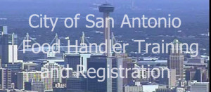 san antonio food handler card